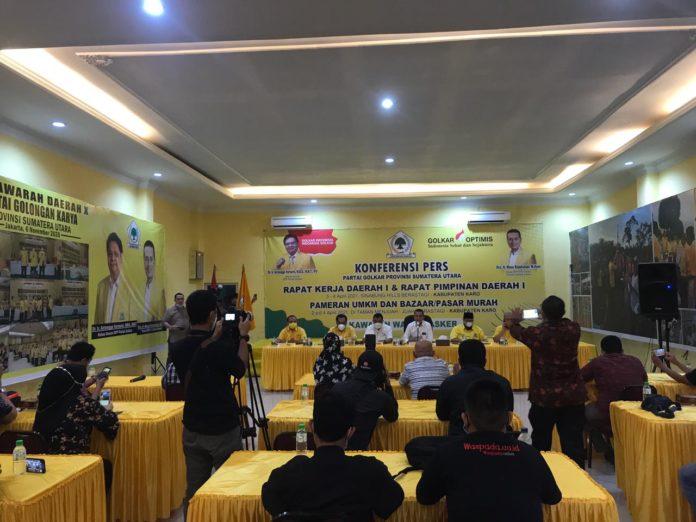 Rakerda & Rapimda Golkar Sumut dalam Memajukan Pameran UMKM dan Bazar