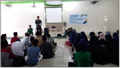 Kelompok Pemagangan FUSI UIN-SU 2021, Gelar FGD di MAN 1 Medan