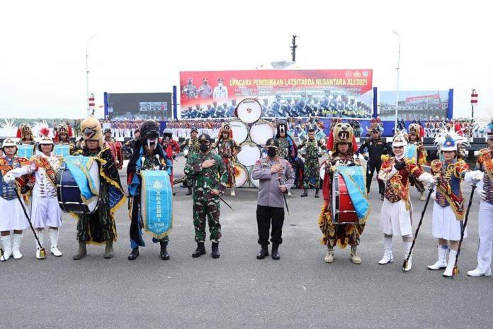 Kapolri Bersama Panglima TNI, Buka Latsitarda Nusantara Ke-41