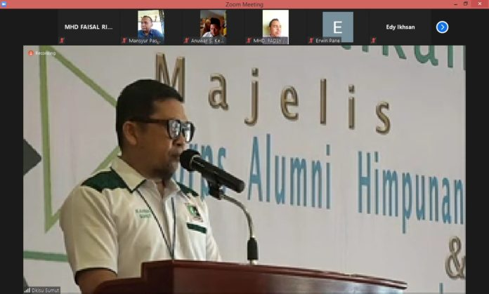 Ahmad Doli Kurnia Diberi Pesan Orang Tua untuk Ngurus HMI, KAHMI dan Al Washliyah