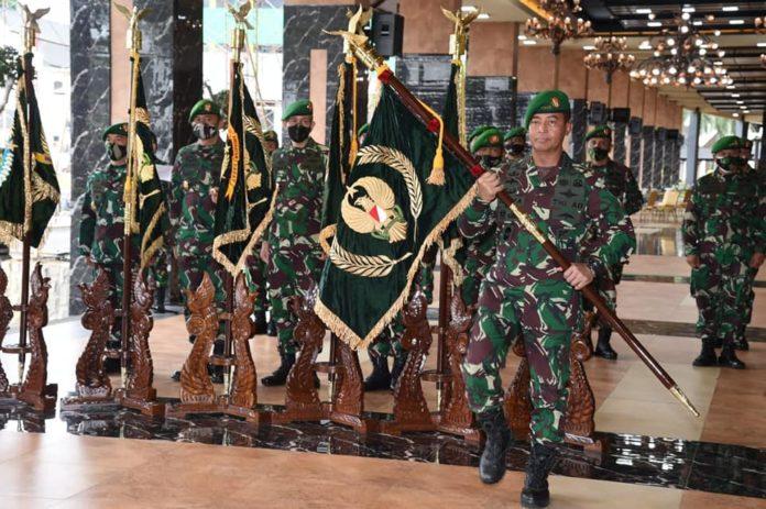 Jenderal TNI Andika Perkasa, Pimpin Sertijab Pejabat Utama TNI AD