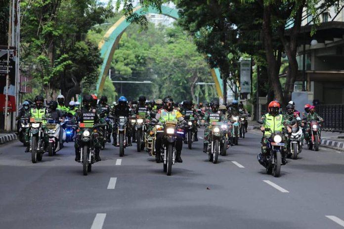 Kapolda Sumut dan Pangdam I/BB, Patroli Bersama Jamin Keamanan Jelang Bulan Ramadhan