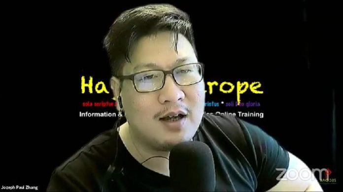 Jozeph Paul Zhang, Ditetapkan Sebagai Tersangka