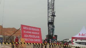 Pembangunan Underpass Jalan Tol Binjai-Pangkalan Brandan Zona 3