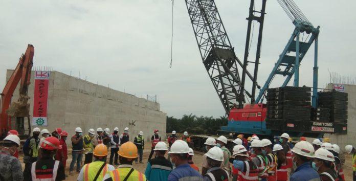 Pembangunan Underpass Jalan Tol Binjai Pangkalan-Brandan