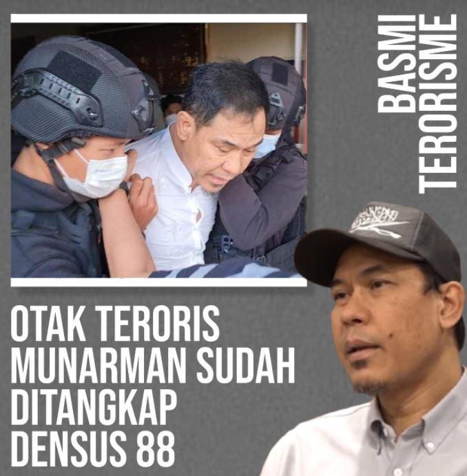 Jenderal Listyo Sigit Prabowo Berani Tangkap Munarman