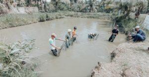 Hadiri Panen Raya Ikan, Wakil Bupati Ciamis: Kita Harus Bersyukur pada Allah
