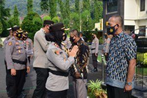Personel Masuki Purnabakti, Kapolres Banjar Pimpin Upacara Pelepasan