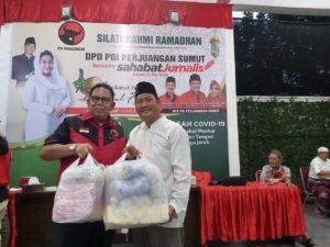 Jelang Idul Fitri, DPD PDI Perjuangan Sumut