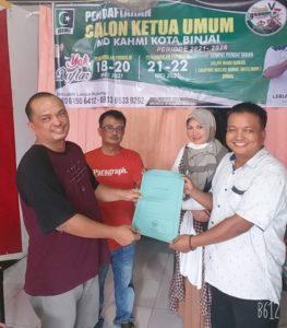 Ruslianto Pendaftar Pertama Caketum MD KAHMI Binjai