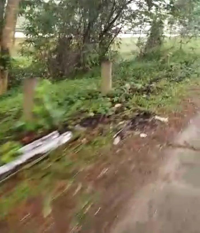 Besi Pembatas Jalan Arteri Bandara Kualanamu