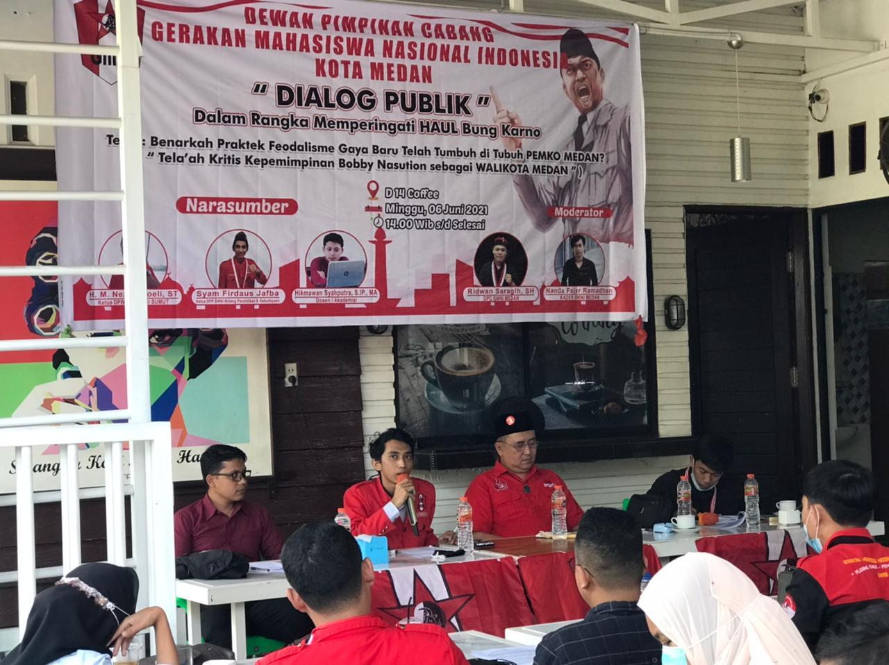 GMNI Medan Gelar Dialog Publik