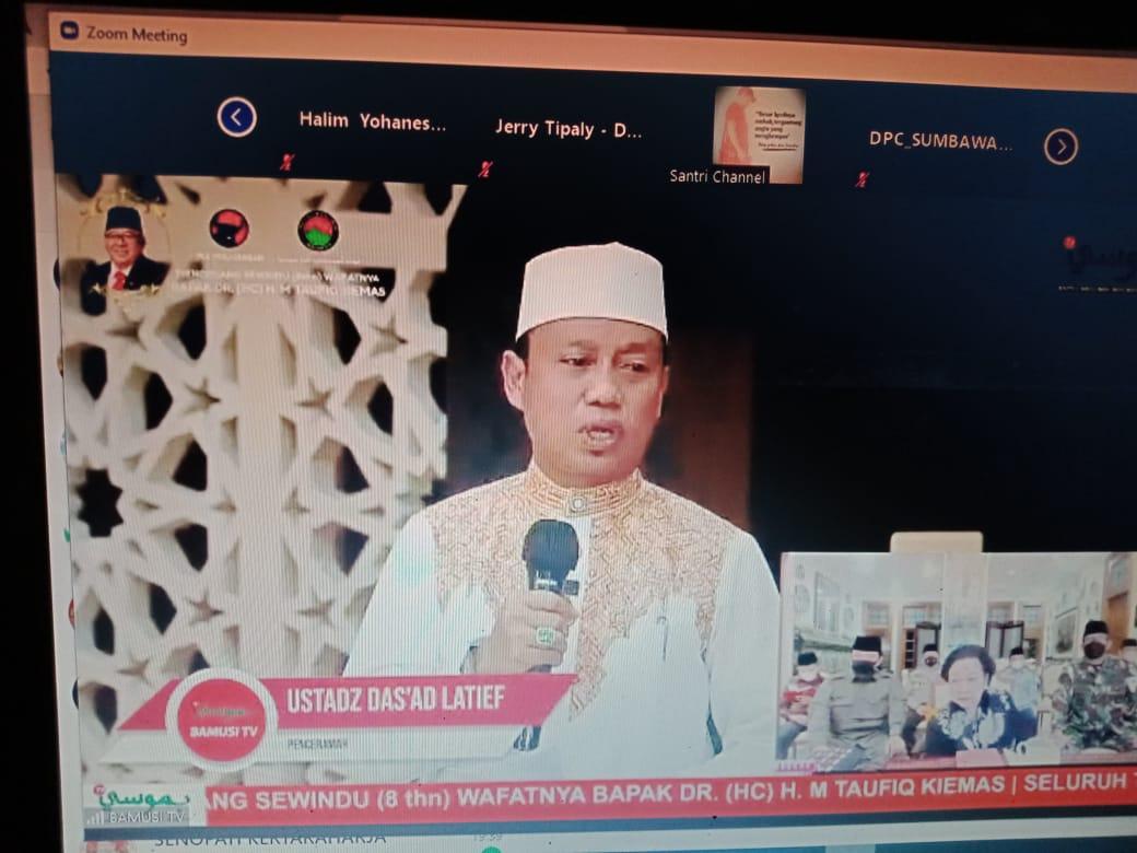 Sewindu Wafatnya Taufiq Kemas